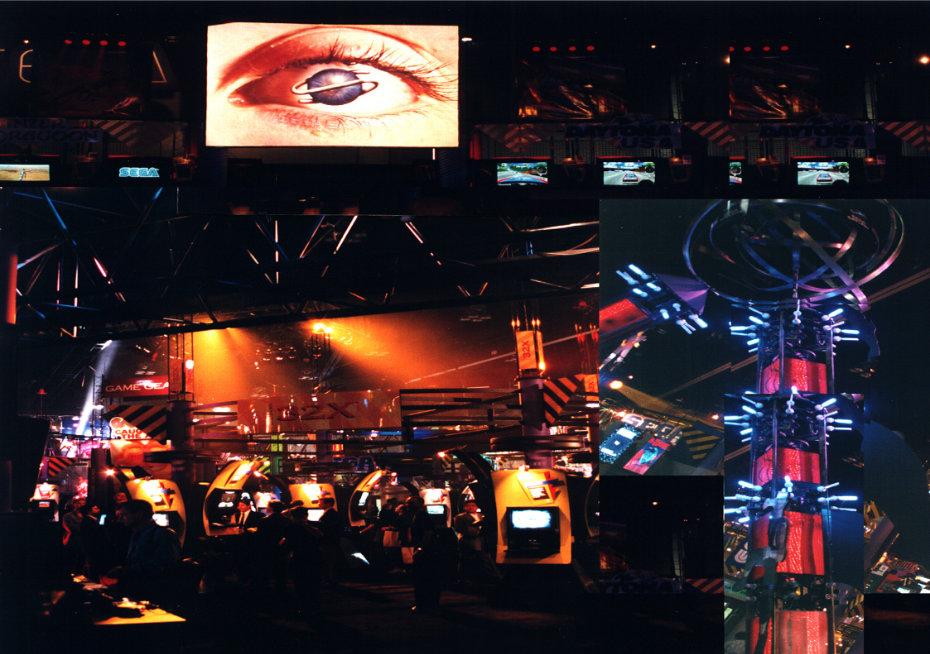SEGA AT E3 IN 1995