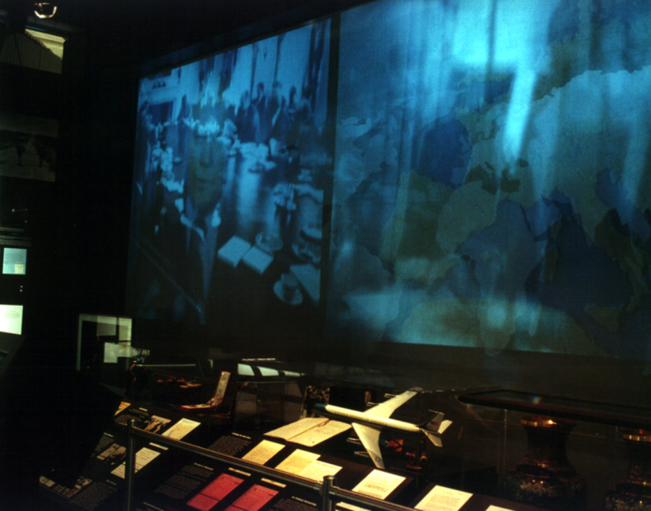 THE FIRST USE OF INTERACTIVE MEDIA IN A PRESIDENTIAL MUSEUM