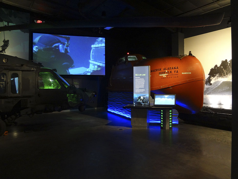 MISSION ARTIFACTS: BLACK HAWK DOWN, THE LIFEBOAT FROM THE MAERSK ALABAMA AND MORE