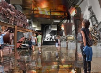 Sloss Furnaces National Historic Landmark, Van Sickle & Rolleri
